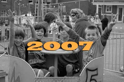 Faces of 2007 graphic