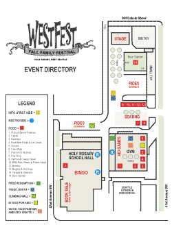 WestFest Event Layout